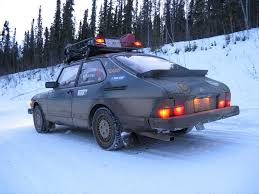 subaru rally snow random capture saabs and snow