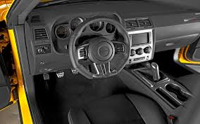 Dodge Challenger Interior - interior other than the american car craft srt8 logo plates on the