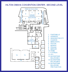 washington convention center floor plan second level floor map