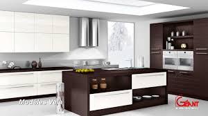 modele cuisine equipee italienne beau cuisine équipée moderne italienne avec modele cuisine equipee