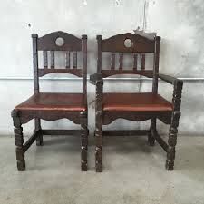 Old Wooden Table And Chairs Monterey Dining Table With 8 Chairs Old Wood Finish U2013 Urbanamericana
