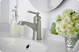 Ikea Bathroom Faucets by Ikea Hemnes Vanity And More From Thrifty Decor