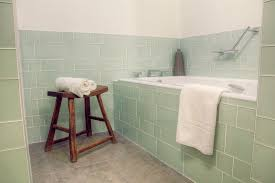 Glass Bathroom Tile Ideas Glass Tile For Bathrooms Kitchens Time To Build