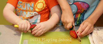 Kids Kitchen Knives by Fruit Salsa Recipe For Kids Still Playing