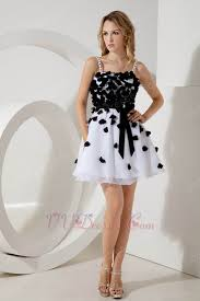 white 8th grade graduation dresses white organza graduation dress with black flowers