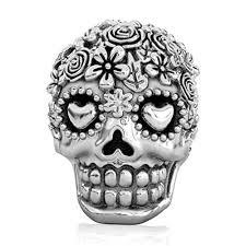 skull bracelet charm images Bella fascini bouquet dia de los muertos day of the dead jpg