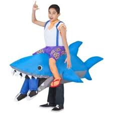 Inflatable Halloween Costumes Totally Ghoul Shark Halloween Airblown Inflatable Costume Fits