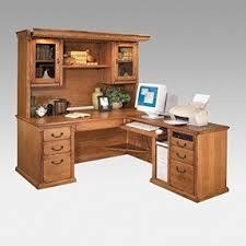 Wood Computer Desk With Hutch Foter by Oak L Shaped Desk Foter
