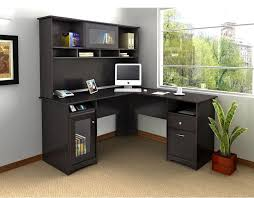 Small Black Corner Computer Desk L Shaped Corner Computer Desk With Hutch Desk Design