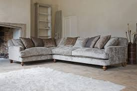 Corner Sofa Velvet New England Home Interiors Based In Horsham West Sussex