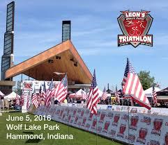 6 Flags In Chicago Transamerica Chicago Triathlon Partners With Leon U0027s Triathlon
