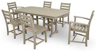 Sc Patio Furniture by Monterey Bay 7 Piece Dining Set Trex Outdoor Furniture