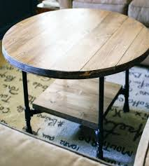 gray reclaimed wood coffee table reclaimed wood coffee table metal legs furniture round ideas rustic