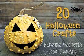 halloween crafts ideas hangout red ted art u0027s blog