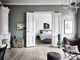 scandinavian interior design with rich details through wall decor