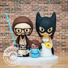 nerdy cake toppers 81 best wars inspired wedding cake topper by jessichu