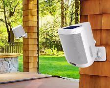 Wireless Outdoor Patio Speakers Ion Audio Keystone Wireless Rechargeable Mountable Outdoor Speaker