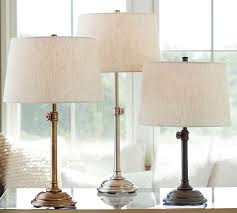 Furniture Lighting Amp H Chelsea Table U0026 Bedside Lamp Base Pottery Barn