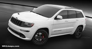white jeep 2016 jeep grand cherokee wk2 2016 srt8 night edition