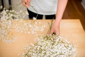 bouquet wedding diy baby s breath bouquet boutonniere the budget savvy