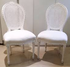 Rachel Ashwell by Rachel Ashwell Shabby Chic 2 Darcy Chairs With Slipcover Rrp 600