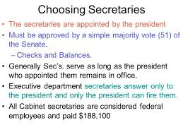 The Presidential Cabinet The Cabinet Departments Everdayentropy Com