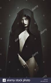 sensual vampire queen halloween and gothic stock photo royalty