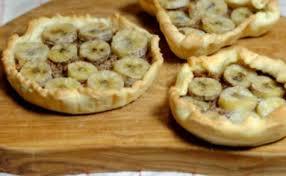 coupe banane cuisine recettes de banane par ma cuisine et vous tartelettes banane et
