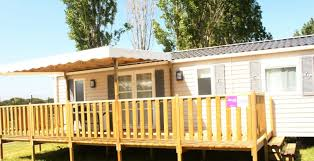 location mobil home 3 chambres rental mobile home 3 bedrooms 6 8 pers covered terrace 2