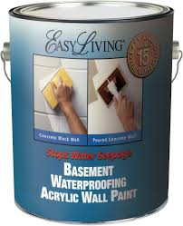 easy living basement waterproofing paint
