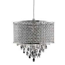 Homebase Chandelier 60 Jewelled Moroccan Large Drum Easy Fit Pendant At Homebase Be