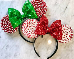 Christmas Mice Decorations Christmas Mouse Etsy