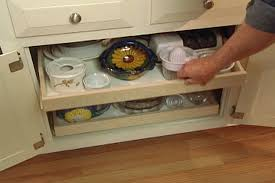 How To Make PullOut Shelves For Kitchen Cabinets  Ron Hazelton - Kitchen cabinet sliding drawers
