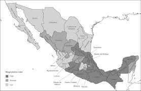 Colima Mexico Map by Average Years Of Life Lost Due To Breast And Cervical Cancer And