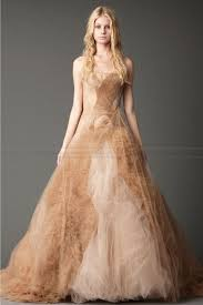 colored wedding dresses tulle informal wedding dresses about