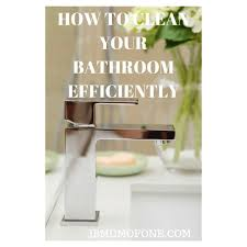 How To Clean Your Desk How To Clean Your Bathroom Efficiently Mum Of One