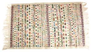 berber rug with azilal berber bohemian boho chic boucherouite