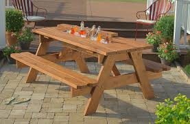 Outdoor Wooden Chair Plans Outdoor Table And Bench Seats Plans Top 25 Best Wooden Picnic