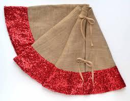 brown christmas tree skirt christmas tree skirt burlap and sequins 50 tree