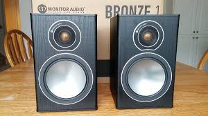 Infinity Rs1 Bookshelf Speakers Monitor Audio Bronze 1 Bookshelf Speakers For Sale Canuck Audio Mart