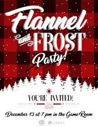 flannel u0026 frost christmas party u2014 the idea blog
