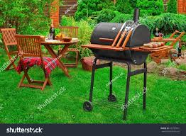 summer weekend family bbq party picnic stock photo 432187051