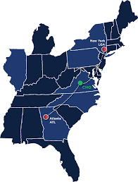 Atlanta Airport Terminal Map Delta by Delta Charlottesville Albemarle Airport
