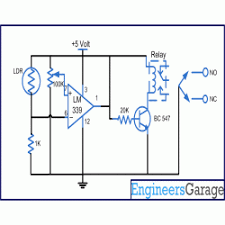 Solar Street Light Circuit Diagram by Circuit Diagram For Automatic Night Lamp