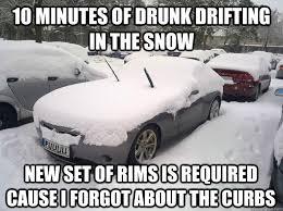 Funny Snow Meme - snow car memes quickmeme