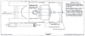 star trek blueprints general plans mk xii robot cargo ship ncc