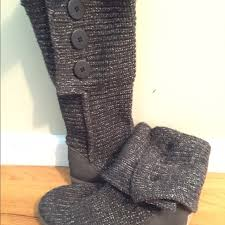 s cardy ugg boots grey 45 ugg shoes ugg grey sparkle cardy boots from s
