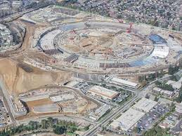 new photo of apple campus 2 construction site business insider