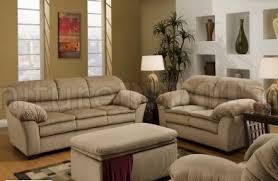 Loveseat Ottoman Beige Microfiber Sofa U0026 Loveseat Set W Optional Chair U0026 Ottoman