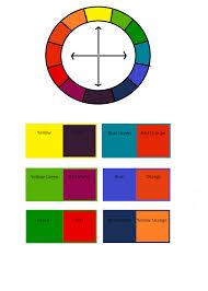 uniquecozytreasures color wheel made easy